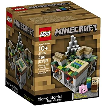 Amazon.com: LEGO Minecraft Micro World - The End 21107 ...
