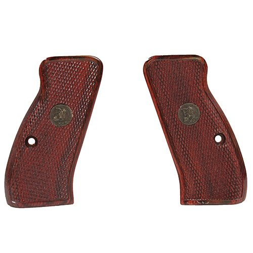 Pachmayr 63230 Renegade Wood Laminate Pistol Grips, CZ 75 Compact, Rosewood, Checkered (Best Cz 75 Grips)