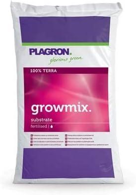 Plagron - Mezcla de cultivo, contiene perlita, 25L