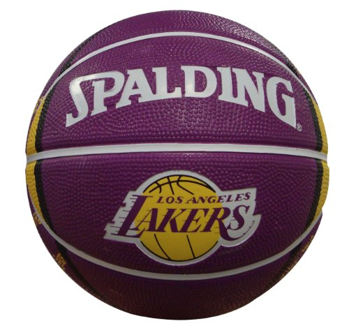 - NBA Los Angeles Lakers Mini Basketball, 7-Inches