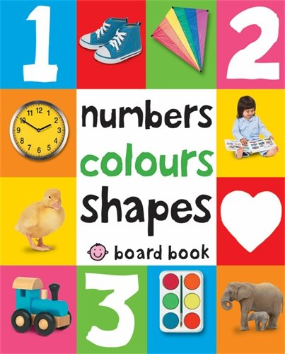 Numbers, Colours, Shapes: First 100 Soft To Touch (Soft to Touch Board Books)