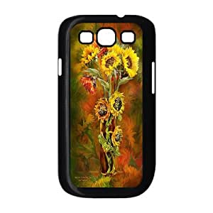 UNI-BEE PHONE CASE For Samsung Galaxy S3 -Sunflower And Sun-CASE-STYLE 6