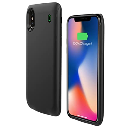 Amazon.com: iPhone Ultra slim Carcasa de batería, lanyos ...