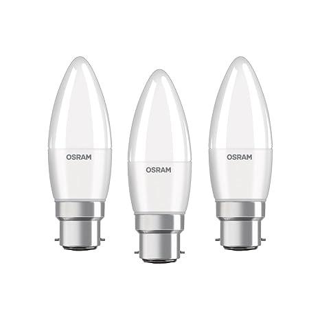 Osram Class B Bombilla LED B22d, 5.7 W, Blanco 1 pieza 3