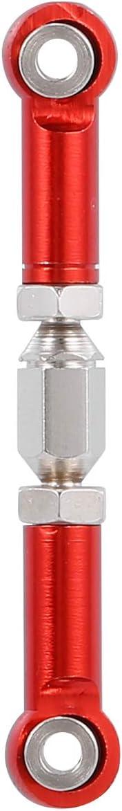 Walmeck Sostituzione per WPL MN-D90 MN-90 MN-99 MN-91 FJ-45 RC Collegamento sterzo Auto Collegamento servo Tirante Tirante Arridatoio Parti in Lega di Alluminio