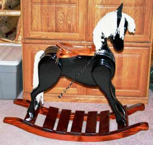 Rocking Horse Paper Plans So Easy Beginners Look Like Experts Build Your Own Childs Rocker Using This Step By Step Diy Patterns By Woodpatternexpert