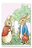Peter Rabbit Room Decor Single Toggle Light Switchplate