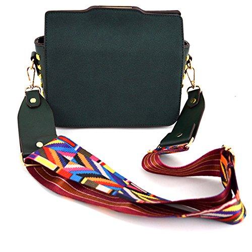 Crossbody Felice Bag Small Handbag Strap Green Shoulder Fashion Purses Colorful FqFZY