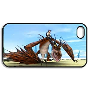 CTSLR Cartoon & Comic Series Protective Hard Case Cover for iPhone 4 & 4S - 1 Pack - How to Train Your Dragon 8