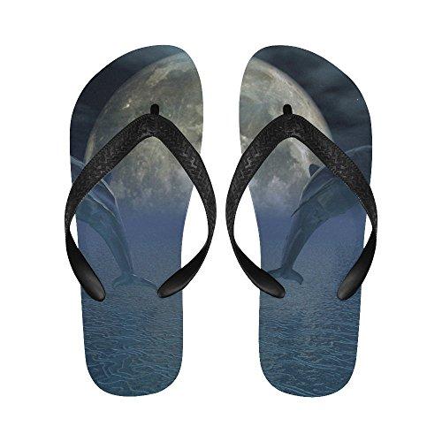D-verhaal Mystieke Dolfijnen Flip Flops Strand Sandalen Voor Heren / Dames