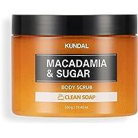 [KUNDAL] Sugar Body Scrub 550g (Clean Soap)