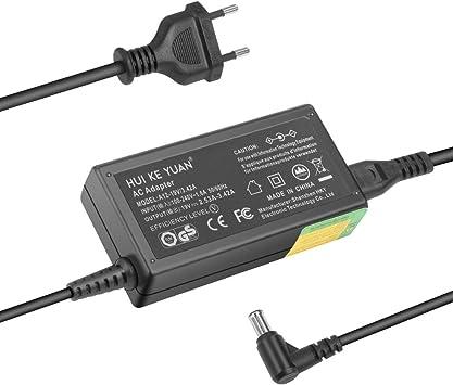 TUV GS] hky19 V 65 W Monitores Fuente de alimentación, cable de carga para LG Electronics