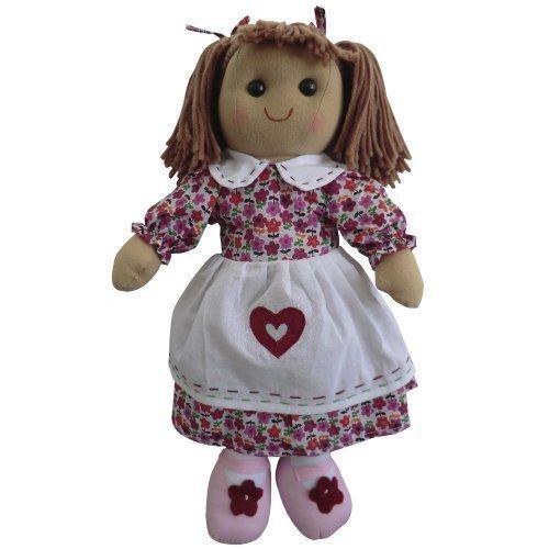 Floral Rag Doll - Handmade - Large 40cms - Powell Craft