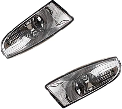 2009-2013 NEW FRONT BUMPER FOGLIGHT LAMP PAIR SET 1Z FOR SKODA OCTAVIA