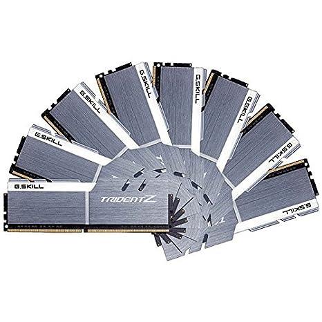 M/ódulos de Memoria Color Gris G.Skill F4-3200C16Q-32GTZB