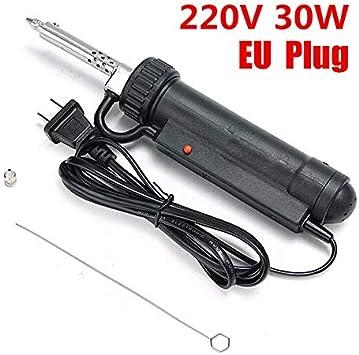 bomba de vac/ío el/éctrica 220 V para reparaci/ón de bombas el/éctrica el/éctrica 50 Hz Bomba de ventosa autom/ática de esta/ño herramienta de desoldador pistola de desoldado 30 W