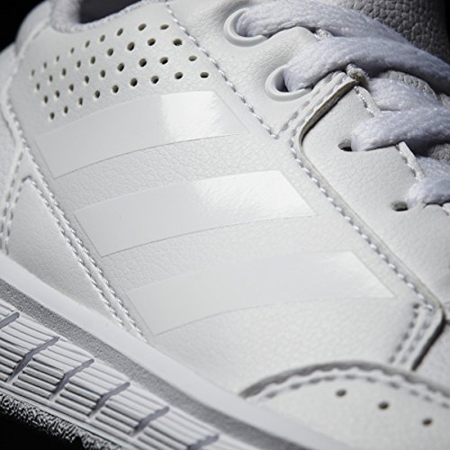 Clair Adidas Unisex De Enfants Gris Blanc Chaussures Altasport Gymnastique pqZxE8