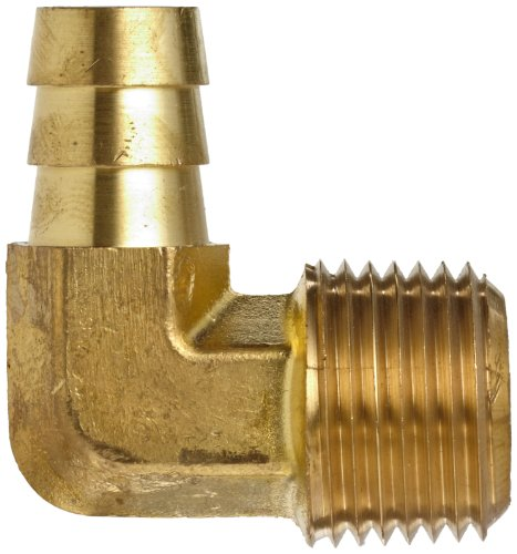 Anderson metals brass hose fitting degree elbow