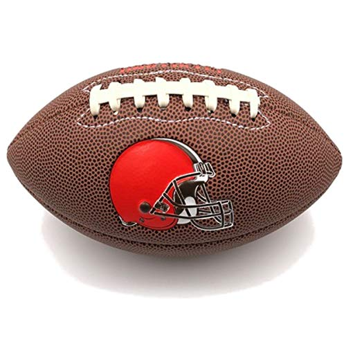 Jarden Sports Licensing Official National Football League Fan Shop Authentic NFL AIR IT Out Mini Youth Football. Great for Pick up Game with The Kids. (Cleveland Browns)