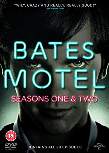 Bates Motel (Season 1 & 2) - 6-DVD Box Set ( Bates Motel - Seasons One and Two (20 Episodes) ) [ NON-USA FORMAT, PAL, Reg.2.4 Import - United Kingdom ] (Dvd Motel Bates)
