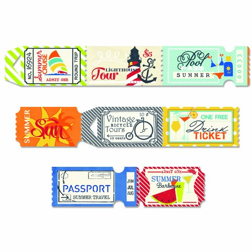Fancy Pants Designs 2225 Nautical Ticket Roll ()