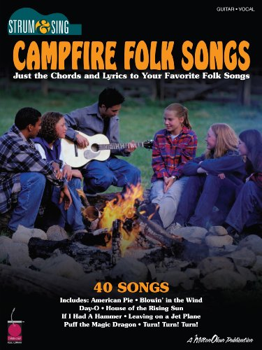 Campfire Folk Songs Songbook (Strum & Sing) - Kindle edition by Hal ...