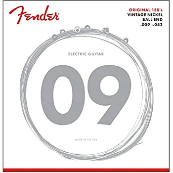 fender 150l pure nickel ball end 9 42 electric guitar strings musical instruments. Black Bedroom Furniture Sets. Home Design Ideas