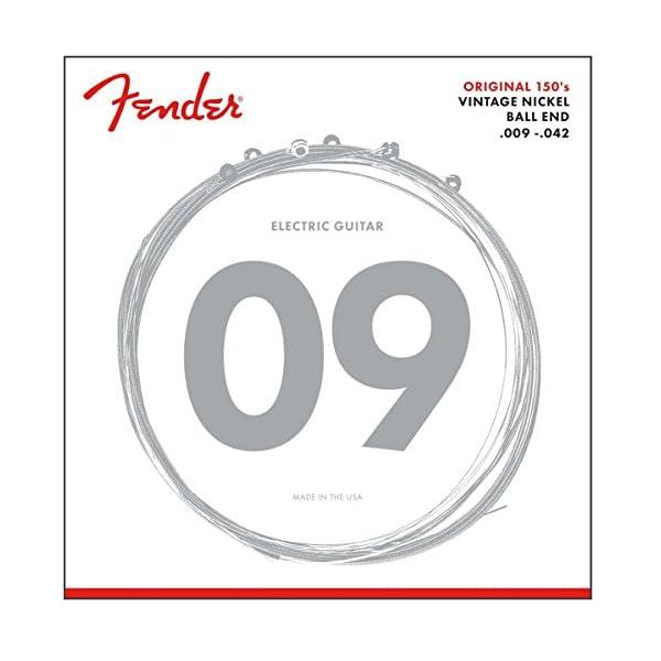 Fender 150 Nickel Wound Electric Guitar Strings Light 9-42