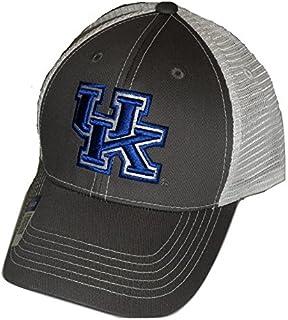 promo code c7acd fc07e Kentucky Wildcats Adjustable Gray Cap Mesh Back Hat