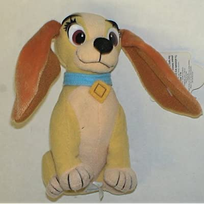 Disney Lady and the Tramp Bean Bag Plush Doll: Toys & Games