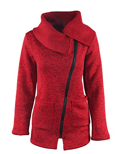 womens cowl neck jacket - 6