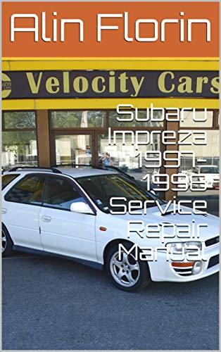 Subaru Impreza 1997-1998 Service Repair Manual