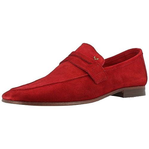 dcb66ae1f Mocasines para Hombre, Color Rojo, Marca Martinelli, Modelo Mocasines para  Hombre Martinelli 1117 0926SYP Rojo: Amazon.es: Zapatos y complementos