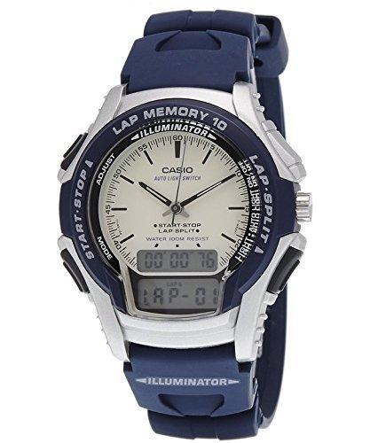 Casio Reloj analógico Digital pantalla deportes Runner Lap Memory WS-300 - 2EV cuarzo hombre: Amazon.es: Relojes