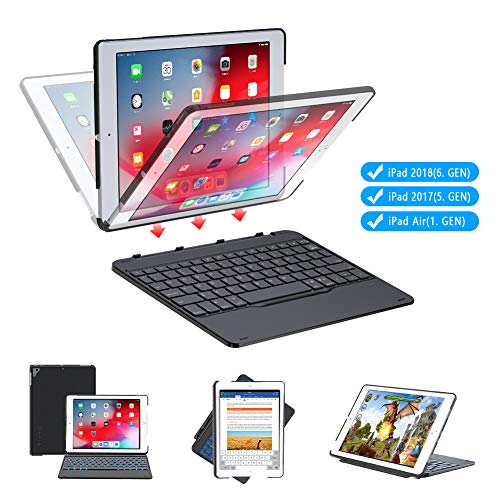 iPad 9.7 Bluetooth Keyboard Case
