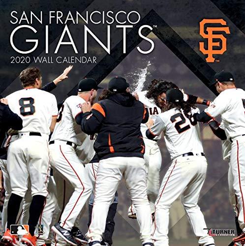 San Francisco Giants 2020 Calendar