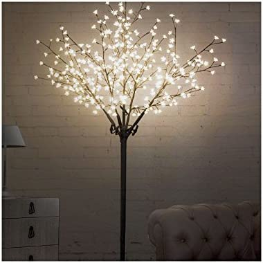 Albero Di Natale Kitchen.Albero Di Natale Con Rami Led 1000035548 Amazon Co Uk Kitchen Home