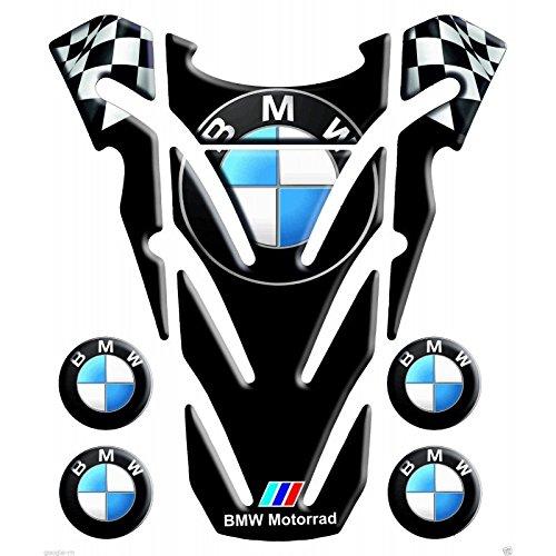 Protection de reservoir Moto MODELS en Gel compatible BMW mod York aile NOIR 15,6x18