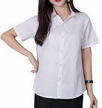 0c5186164953a Foucome Women's Maternity Shirts and Blouse Point Collar V- Neck Button Down  Long Sleeve Tops for Work at Amazon Women's Clothing store: