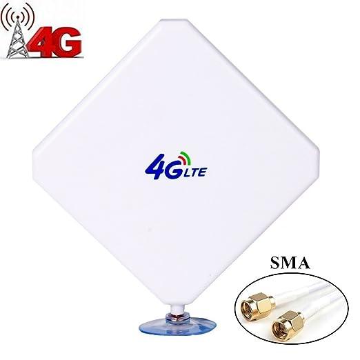 30 opinioni per Urant Antenna 4G LTE, TS9 Dual Mimo 35 dBi amplificatore amplificatore