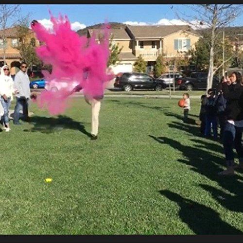 Gender Reveal Football (Pink + Blue Powder) by Suntex (Image #7)
