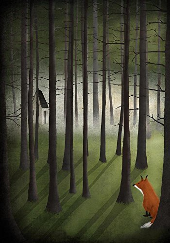 Easy Art Prints Maja Lindberg's 'Glade' Premium Canvas Art 30 x 21 ()
