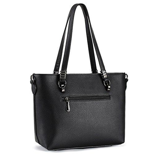 Tote Women Purse Joy Magic Brown Bag Tote Leather Handbags Shoulder Top amp; PU Satchel Handbags Handle Bag vqxwO5x6