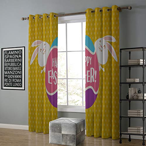 (Blackout Curtain Kids 120 by 108 Inch Groovy,Grunge Loo Peace Signs Popular Symbols of Sixties in Pink and Black,Black Hot Pink White)