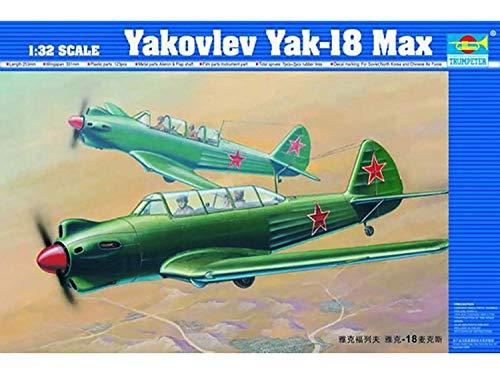 (Trumpeter 02213 Yakovlev Yak-18 Max Russian Aircraft 1/32 Scale Model Kit)