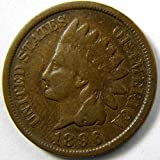 1884 indian head penny - 1896 U.S. Indian Head Cent / Indian Head Penny Good and Better