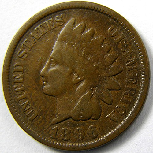 1896 U.S. Indian Head Cent / Indian Head Penny Good and Better