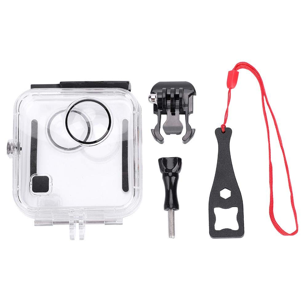 fosa Waterproof Housing Case for GoPro Fusion, Underwater Diving 45m Protective Cover Shell with Bracket Accessories for GoPro Fusion Action Camera