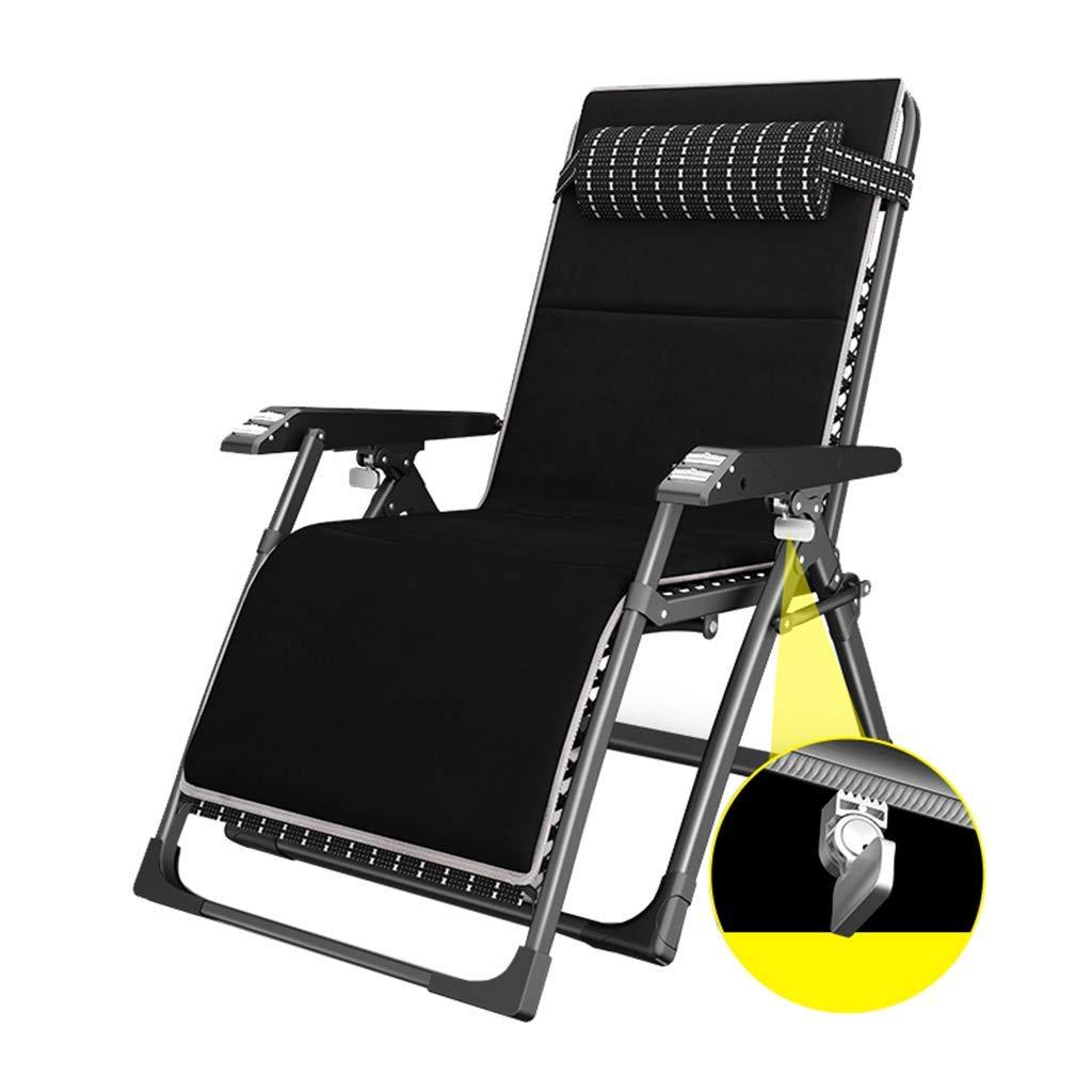 LXDDP Tumbonas reclinables con Cojines | Negro Silla n ...