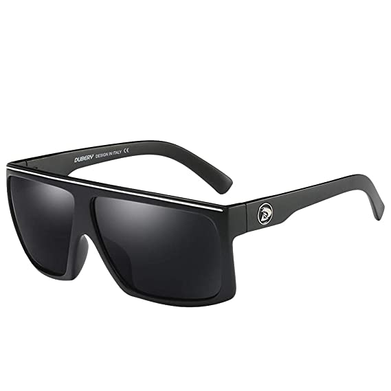 Gafas de Sol para Hombre Clásico Lujo Retro UV400 Lentes cuadradas moda Tendencia para Deportes al aire libre Golf Ciclismo Pesca Senderismo ...
